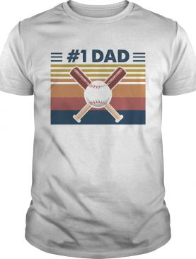 Baseball 1 dad vintage shirt