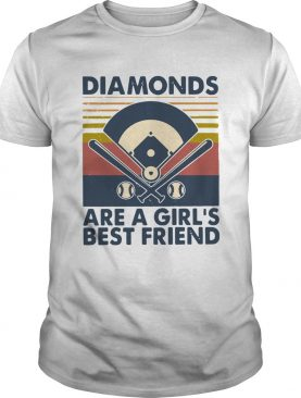 Baseball Diamonds Are A Girls Best Friend Vintage shirt