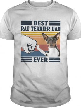 Best Rat Terrier Dad Ever Vintage shirt