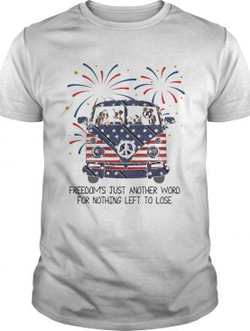 Bulldog freedoms just another word for nothing left to lose American flag veteran Independence Day