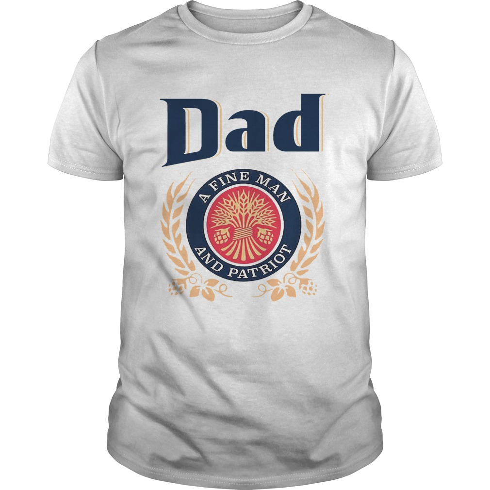 Dad A Fine Lineman And Patriot Fathers Day  Unisex