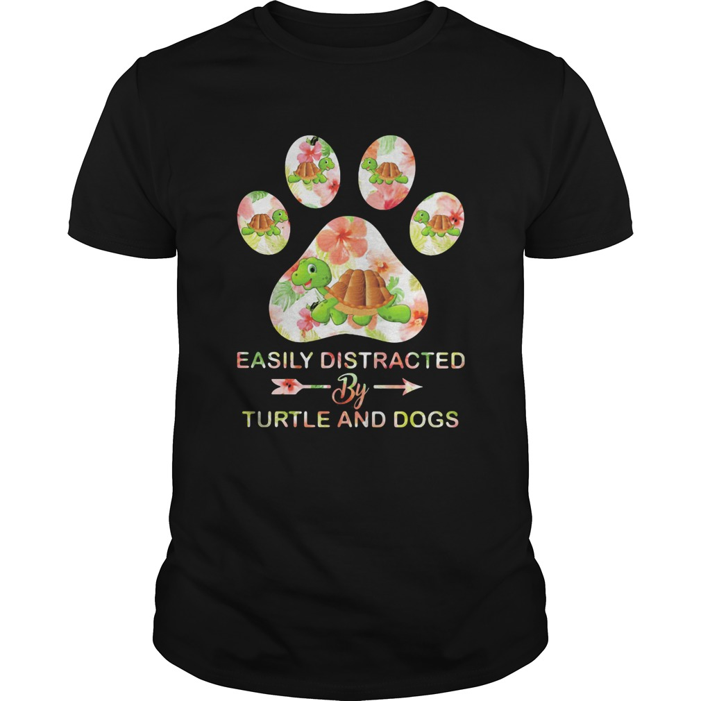 Flower easily distracted by sloths and dogs paw  Unisex