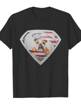 Super Bulldog American flag veteran Independence Day shirt