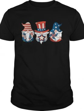 4th Of July American Flag Gnome shirt