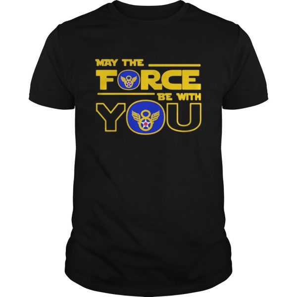 Eighth air force may the force be with you shirt