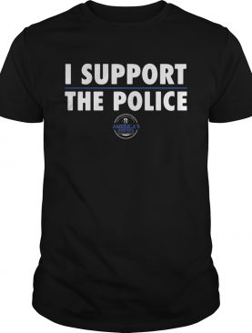 I support the police americas keepers shirt
