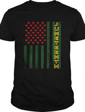 Independence Day flag american juneteenth shirt