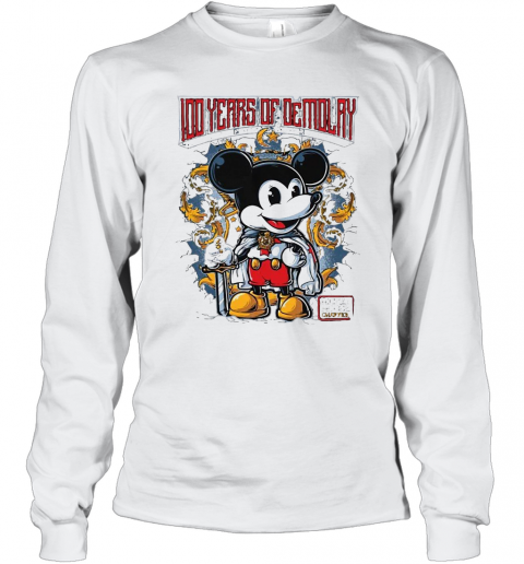Mickey Mouse Chapter 100 Years Of Demolay T-Shirt Long Sleeved T-shirt