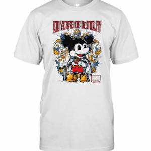Mickey Mouse Chapter 100 Years Of Demolay T-Shirt