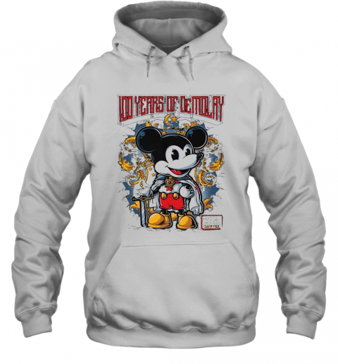 Mickey Mouse Chapter 100 Years Of Demolay T-Shirt Unisex Hoodie