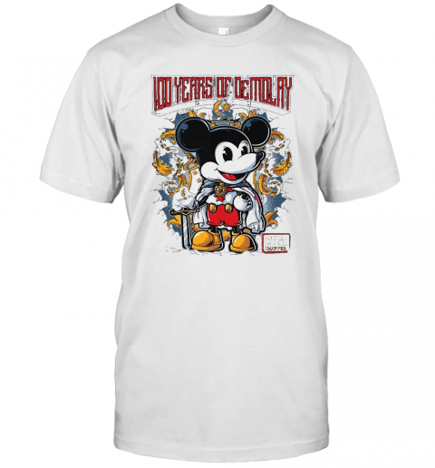 Mickey Mouse Chapter 100 Years Of Demolay T-Shirt Classic Men's T-shirt