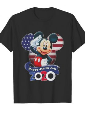 Mickey Mouse Happy 4th Of July 2020 shirt