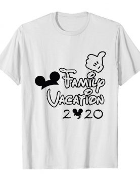 Mickey mouse ear family vacation 2020 shirt
