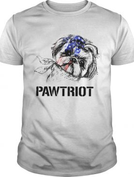 Shih Tzu Pawtriot 4th Of July Independence Day shirt