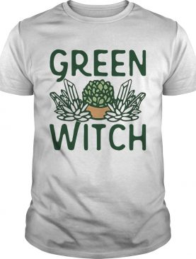 Cactus Green Witch shirt
