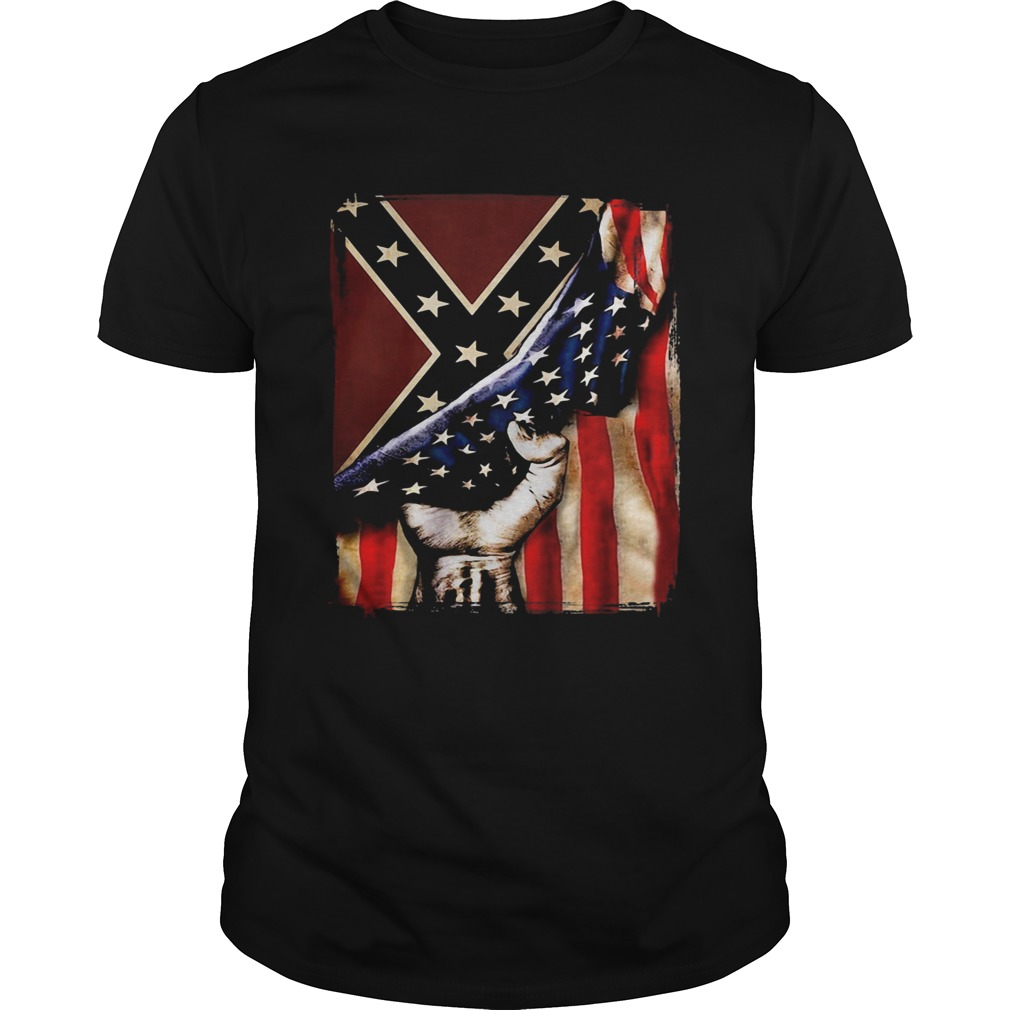Flag american and dixieland  Unisex
