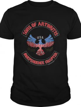 Independence day sons of arthritis eagle USA independence chapter shirt