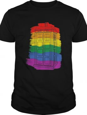 LGBt police public call box shirt
