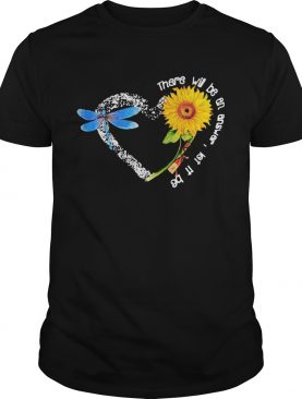 There will be an answer let it be heart butterfly sunflower shirt