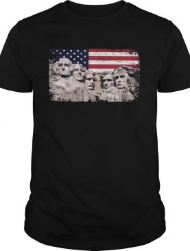 Trump 45th Added To Mount Rushmore shirt