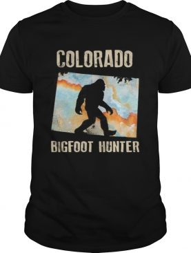Colorado bigfoot hunter sunset shirt