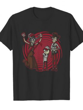 Halloween rick morty and witch shirt