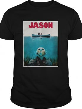 Jason Voorhees Friday The 13th Jaws shirt