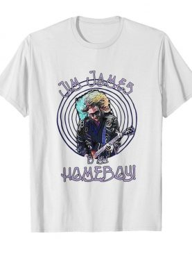 Jim james is my homeboy playing guitar shirt