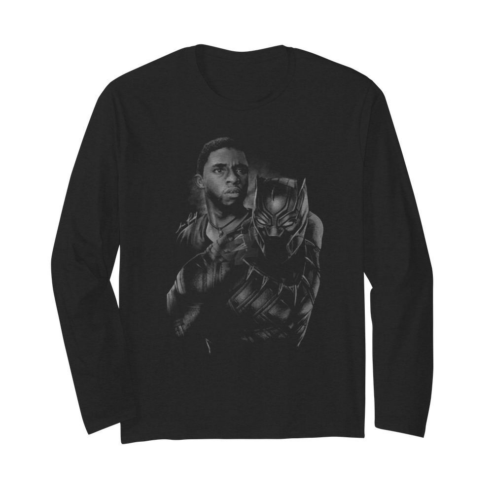 Marvel black panther rip chadwick Boseman 2020  Long Sleeved T-shirt