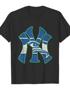 New York Seahawks Yankees Canvas shirt
