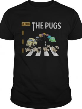 The Abbey Pugs Crossing the line shirt
