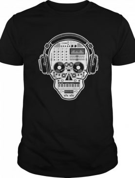 DJ Sugar Skull Day Of The Dead shirt