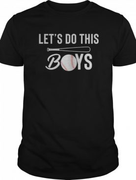 Let's Do This Boys Baseball shirt