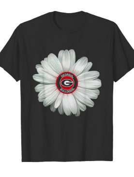 Official Georgia Bulldogs Daisy Flower shirt