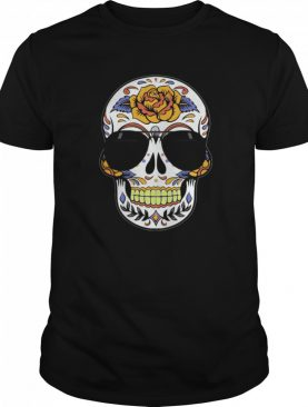 Skull Wearing Sunglasses Day Of The Dead shirt