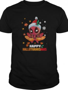 Baby Deadpool Happy Hallothanksmas Xmas 2020 shirt