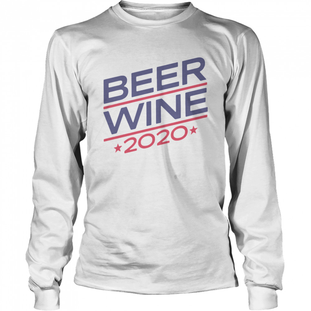 Beer Wine 2020  Long Sleeved T-shirt