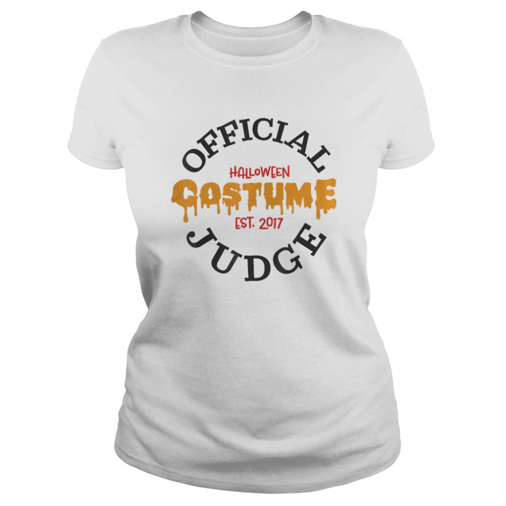Halloween Judge  Classic Women's T-shirt
