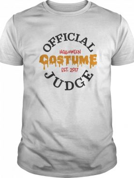 Halloween Judge shirt