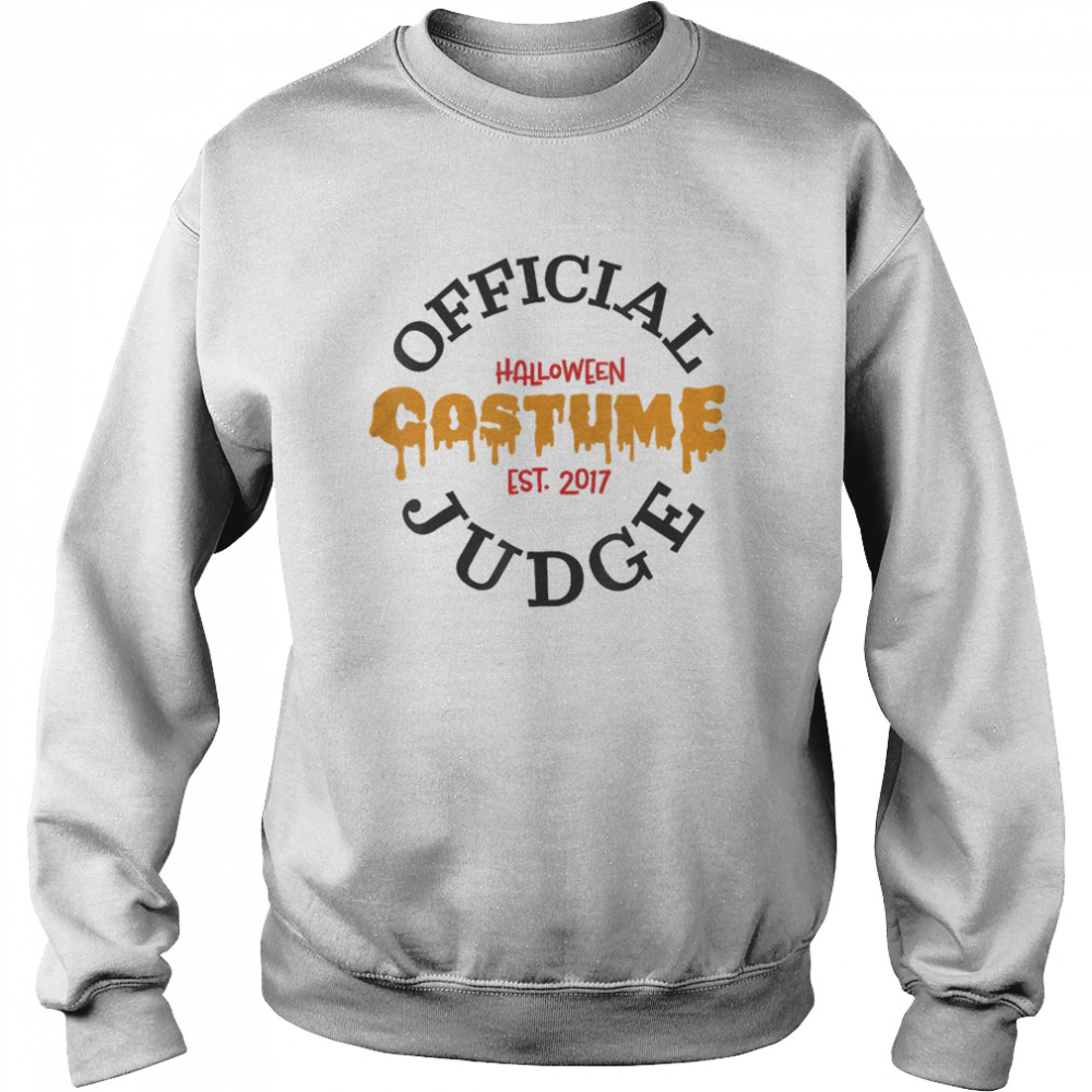 Halloween Judge  Unisex Sweatshirt