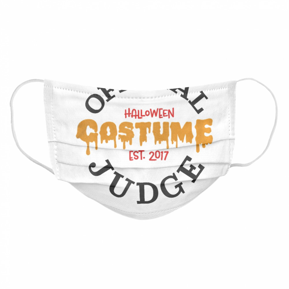 Halloween Judge  Cloth Face Mask