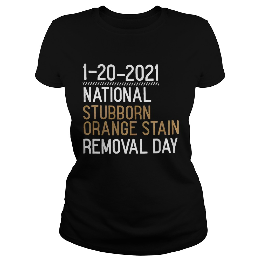 1 20 2021 National Stubborn Orange Stain Removal Day  Classic Ladies