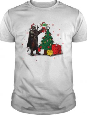 Baby Yoda The Mandalorian Star Wars Christmas 2020 Christmas shirt