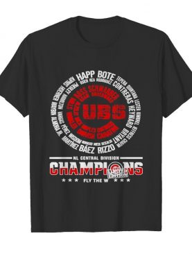 Chicago Cubs Nl Central Division champions fly shirt