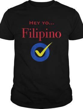Hey Yo Filipino Check shirt