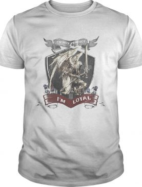 Im not perfect im loyal vikings shirt