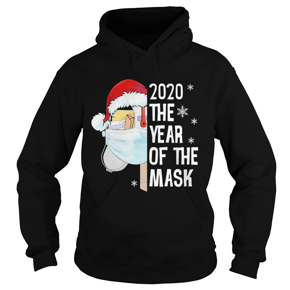 Mailbox Santa 2020 The Years Of The Mask Christmas  Hoodie