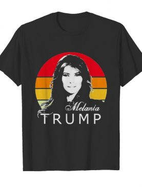 Vintage Melania Trump First Lady of the United States shirt