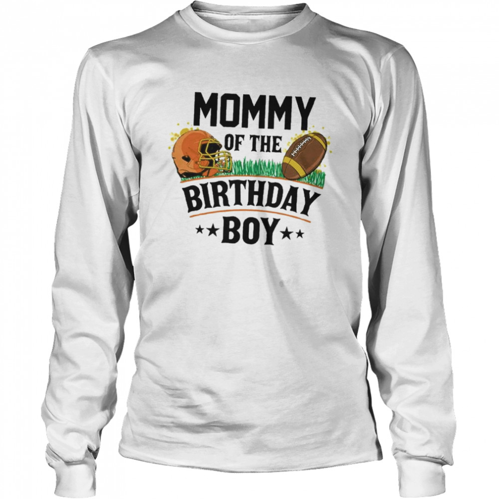 Daddy of the birthday boy  Long Sleeved T-shirt