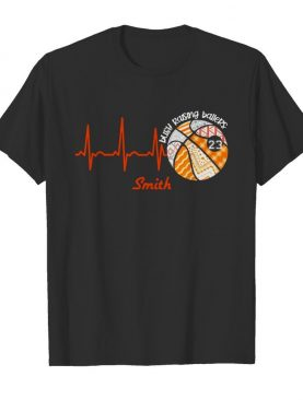 Heartbeat Volleyball Busy Raising Ballers Smith shirt